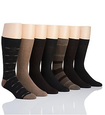 Van Heusen Fashion Dress Socks - 7 Pack