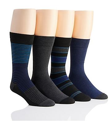Van Heusen Flex Fashion Dress Socks - 4 Pack