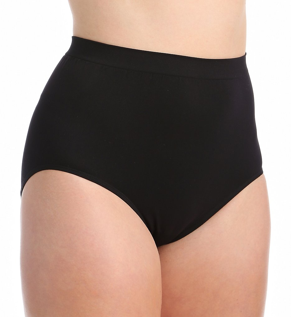 Vanity Fair >> Vanity Fair 13083 Perfectly Yours Seamfree Tailored Brief Panty (Midnight Black 10/11)