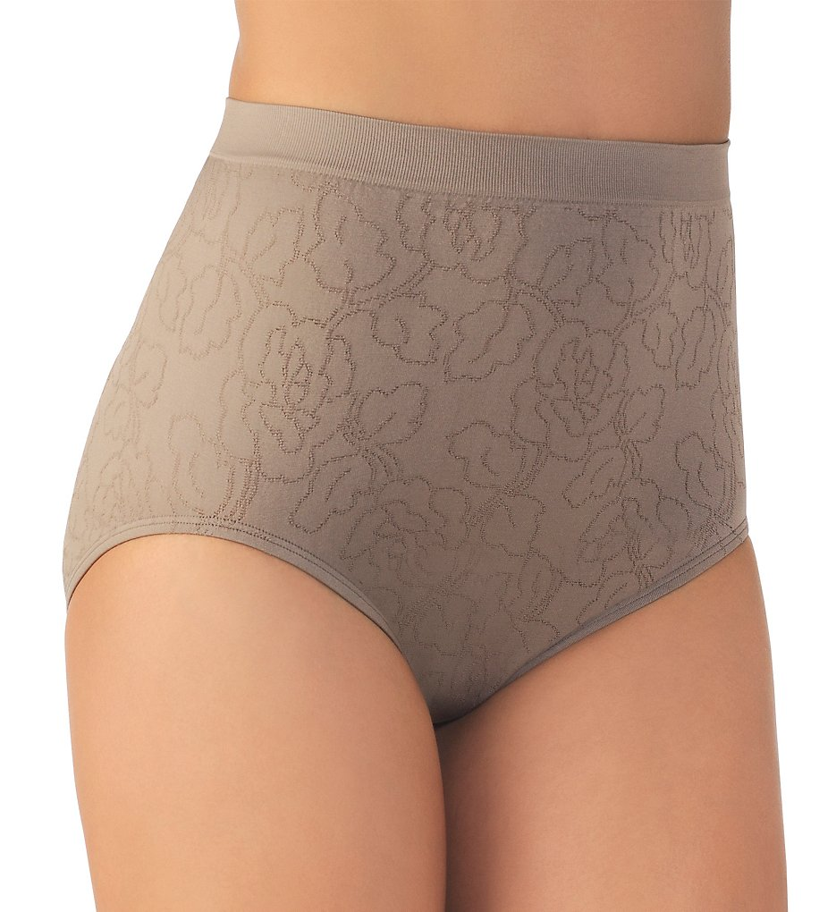 Vanity Fair 13096 Perfectly Yours Seamfree Jacquard Brief Panty