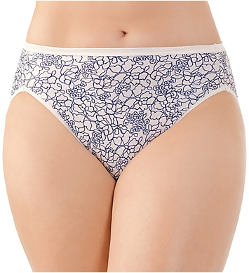 Vanity Fair Illumination Hi-Cut Brief Panty - 3 Pack