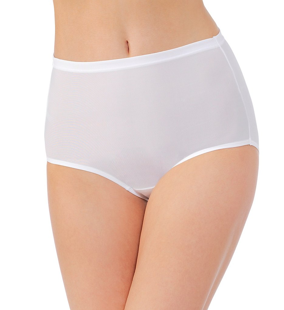 Vanity Fair >> Vanity Fair 13123 Cooling Touch Brief Panty (Star White 6)