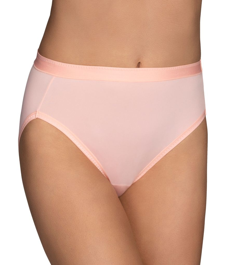 Vanity Fair Comfort Where It Counts Modern Hi-Cut Panty
