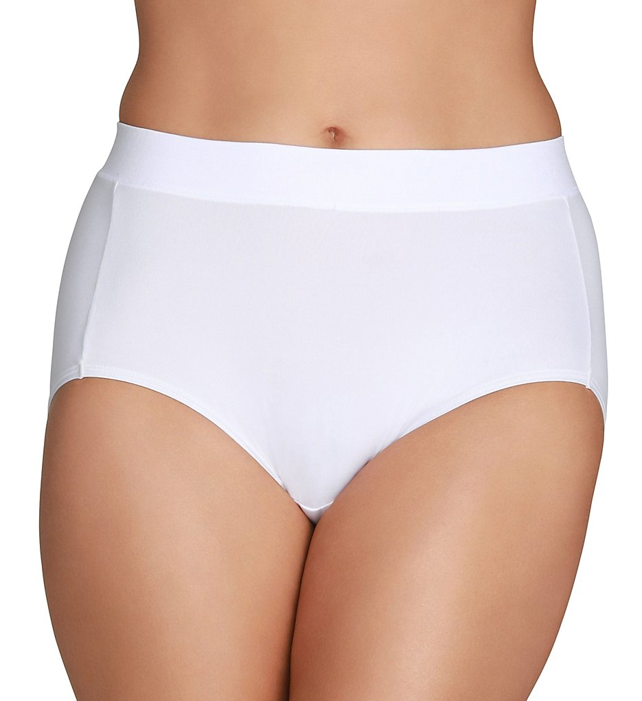 Vanity Fair >> Vanity Fair 13213 Beyond Comfort Brief Panty (Star White 6)