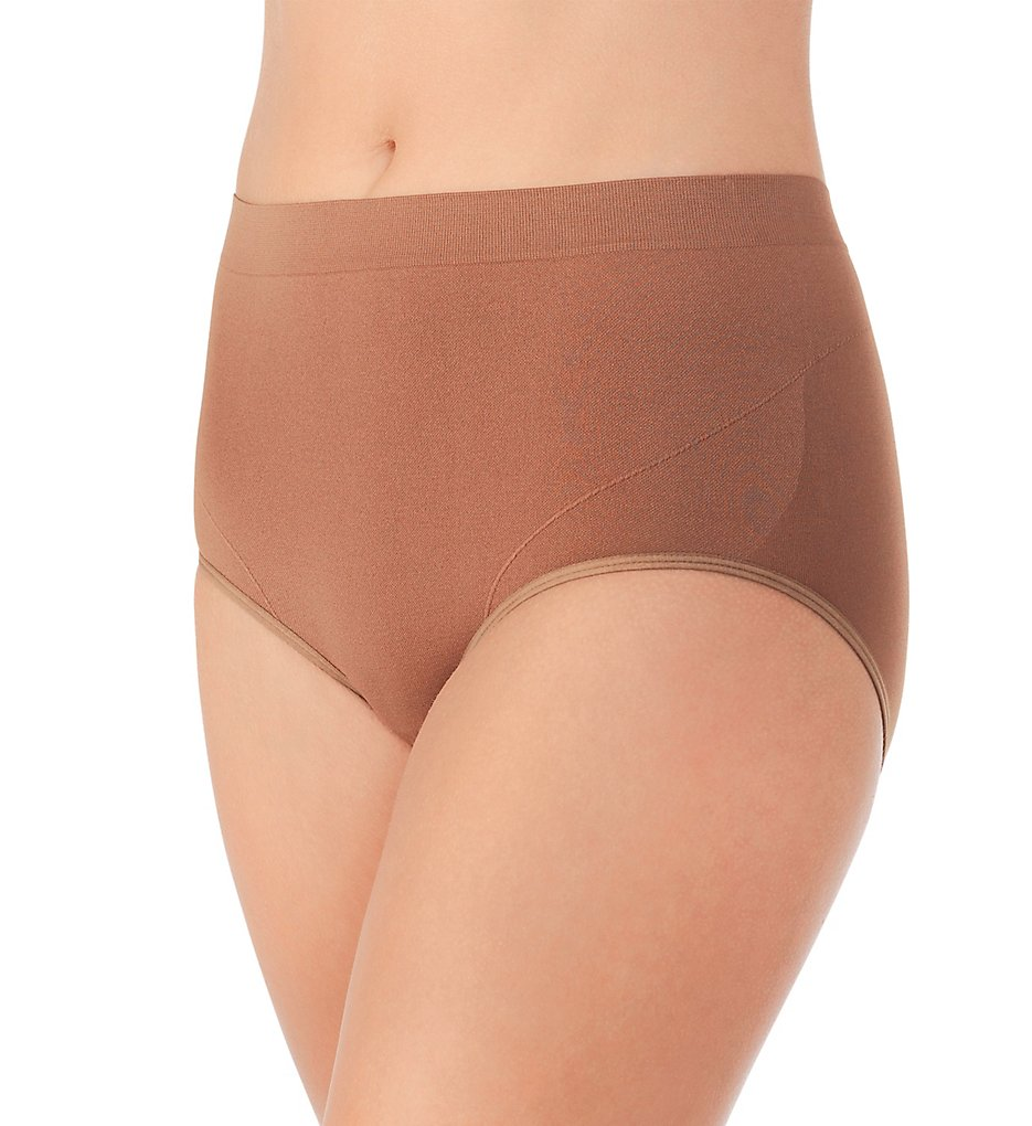 Vanity Fair >> Vanity Fair 13264 Smoothing Comfort Seamless Brief Panty (More Coffee 6)