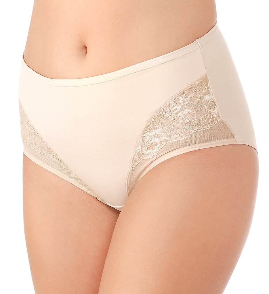 Vanity Fair 13267 Smoothing Comfort Lace Brief Panty