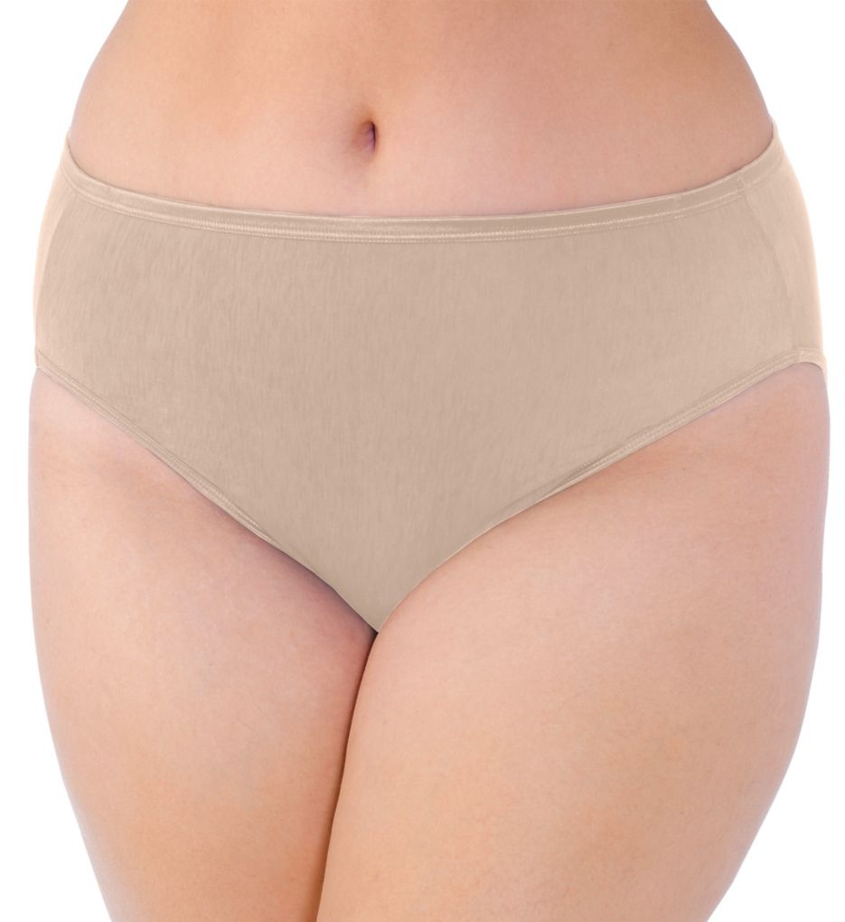 Vanity Fair Illumination Plus Size Hi-Cut Brief Panty