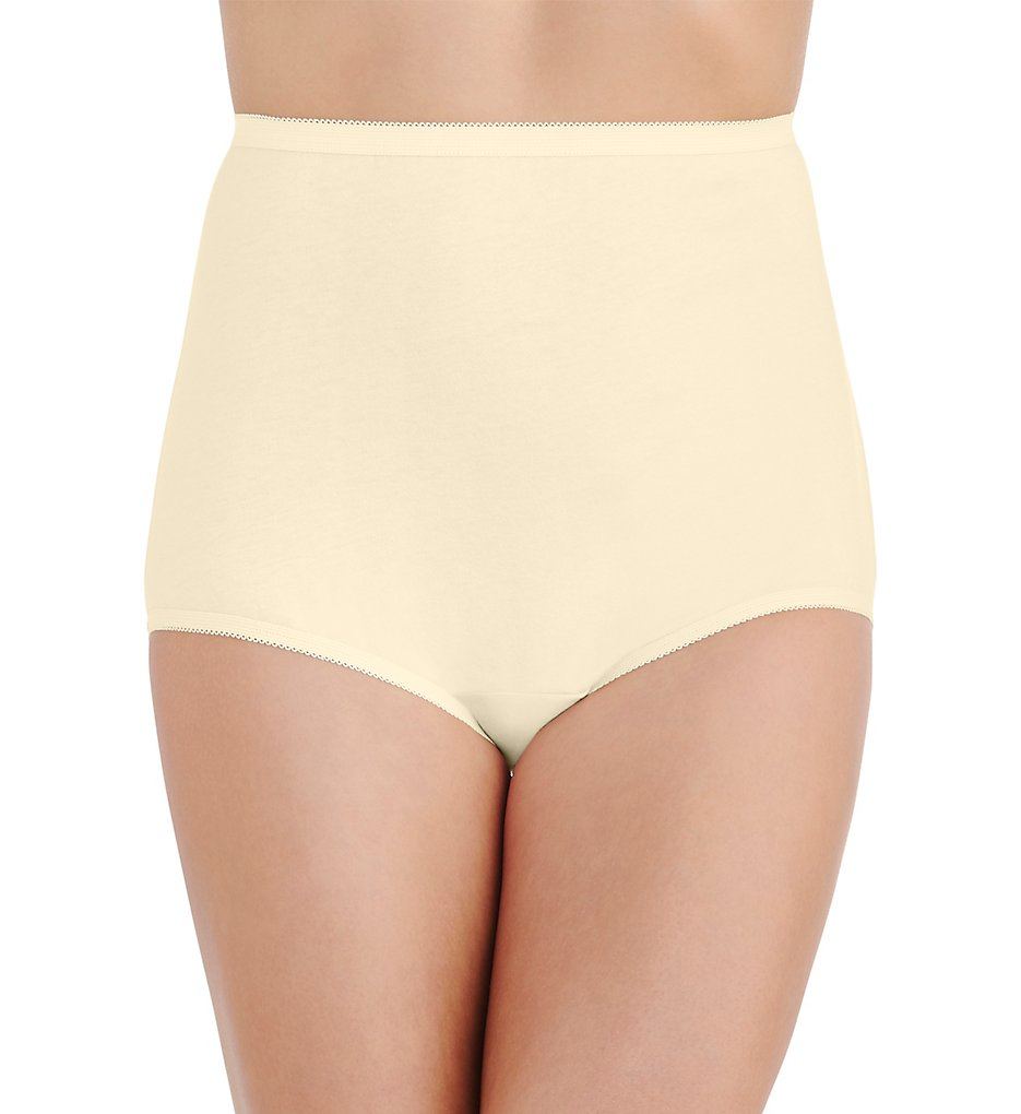 Vanity Fair >> Vanity Fair 15318 Perfectly Yours Tailored Cotton Brief Panty (Candleglow 5)