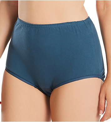 Vanity Fair Tailored Cotton Brief Panty - 3 Pack