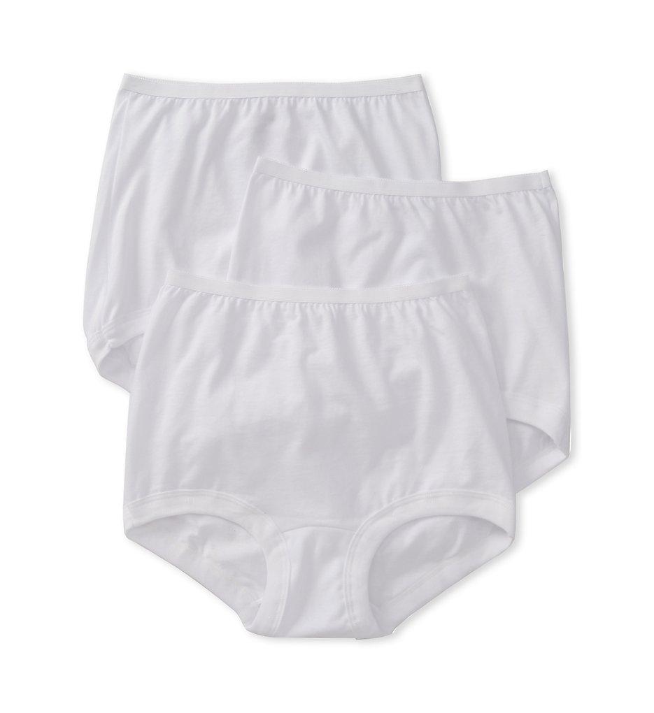 Vanity Fair 15367 Lollipop Legband Brief Panties - 3 Pack