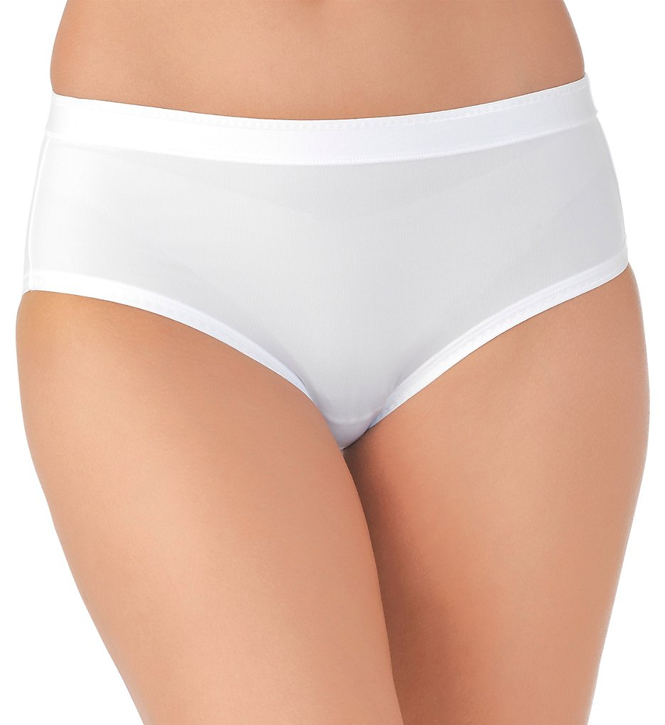 Vanity Fair - Vanity Fair 18163 Comfort Where it Counts Hip Brief Panty (Star White 5)
