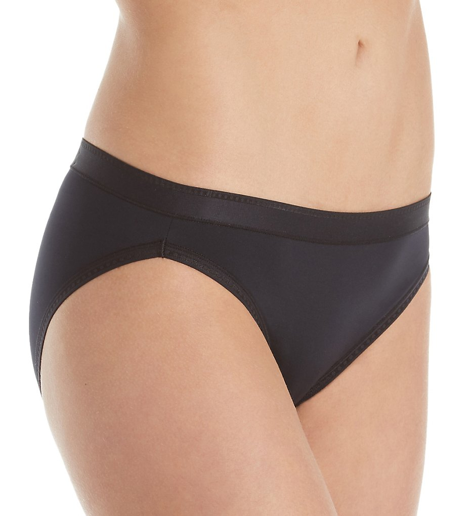 Vanity Fair - Vanity Fair 18164 Comfort Where It Counts Bikini Panty (Midnight Black 5)