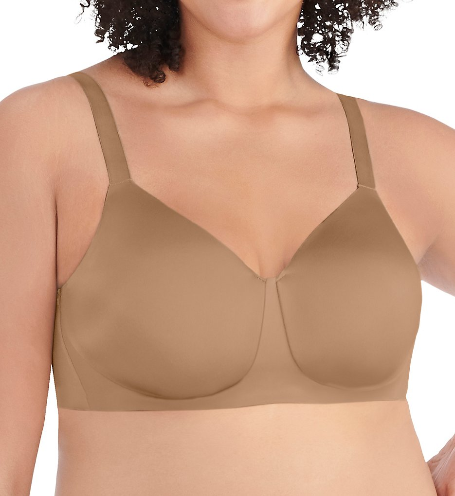 Vanity Fair 71203 Nearly Invisible Full Figure Wirefree Bra (Totally Tan)