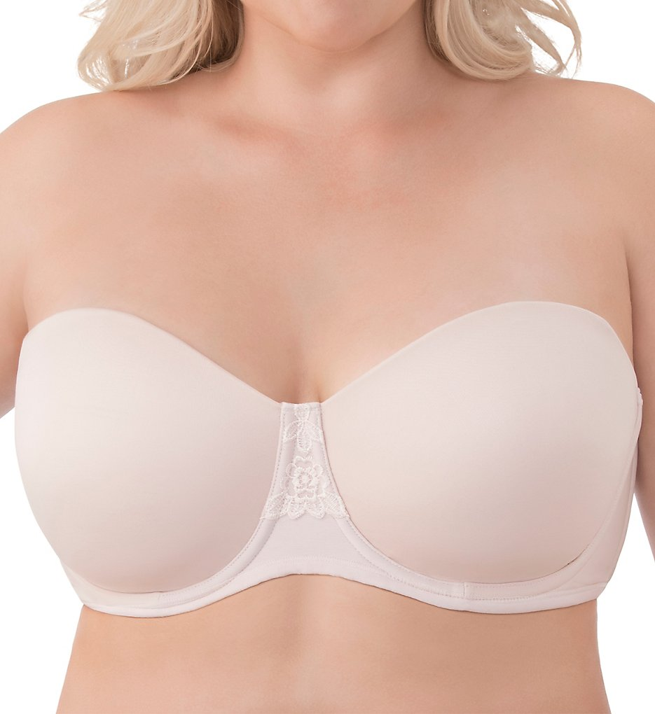 Vanity Fair 74380 Beauty Back Full Figure Strapless Bra (Sheer Quartz)