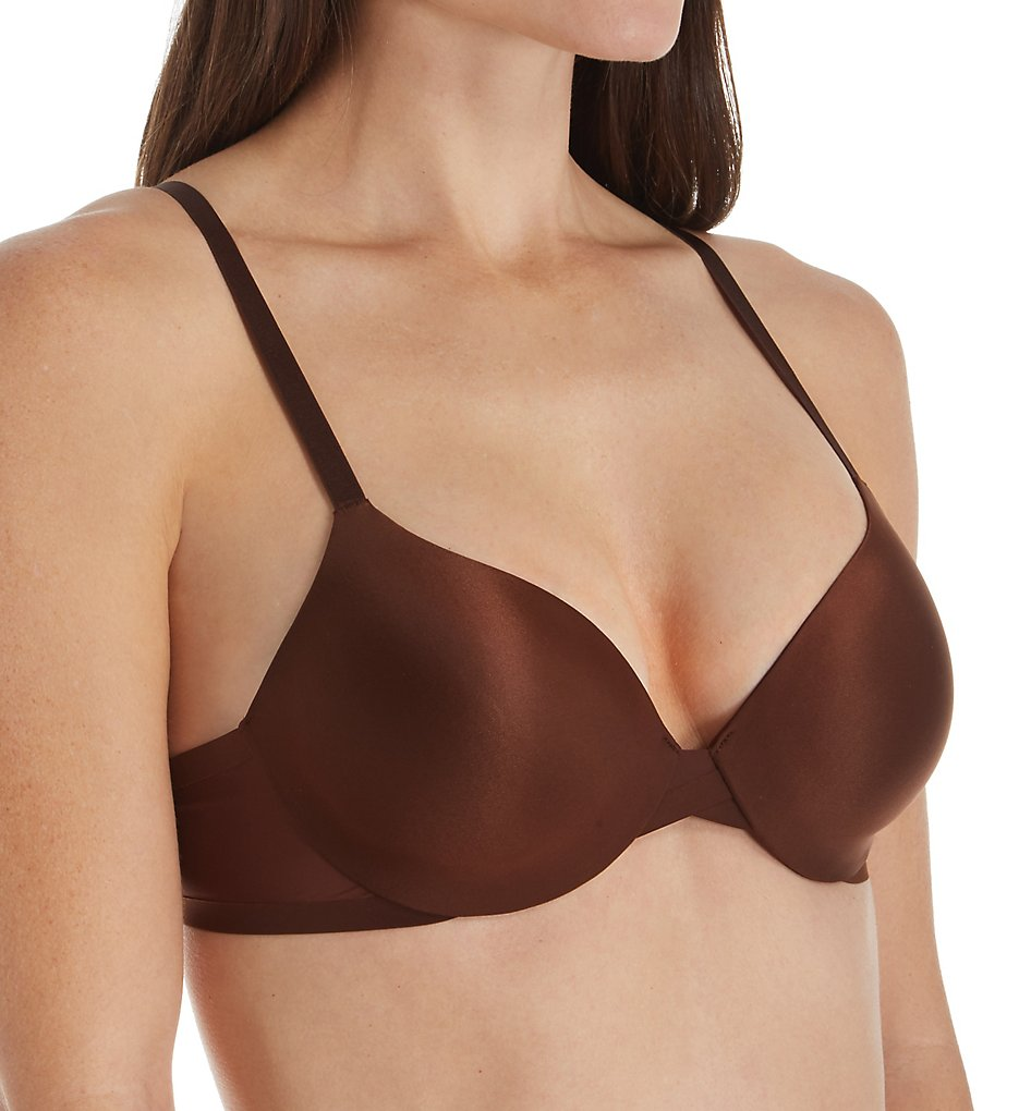 Vanity Fair 75201 Nearly Invisible Full Coverage Underwire Bra (Cappuccino)