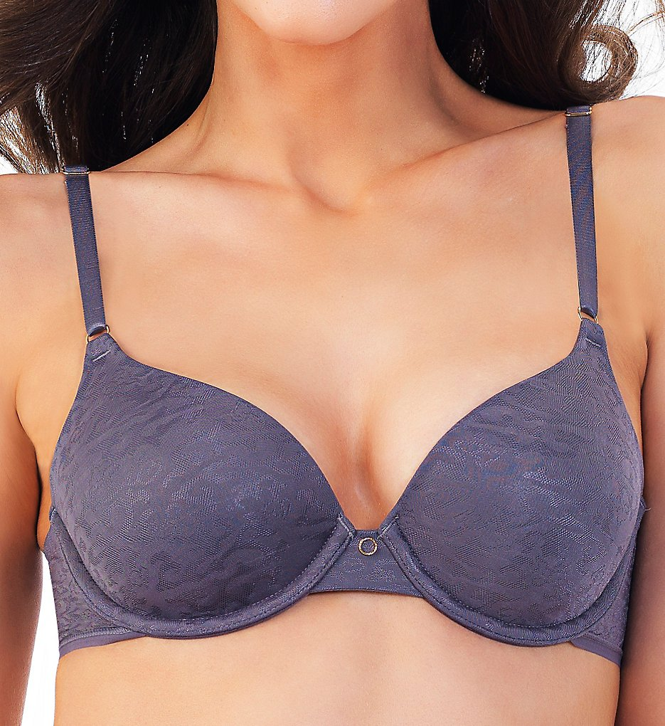Vanity Fair - Vanity Fair 75286 Beautifully Smooth Average Figure Bra (Steele Violet 34D)