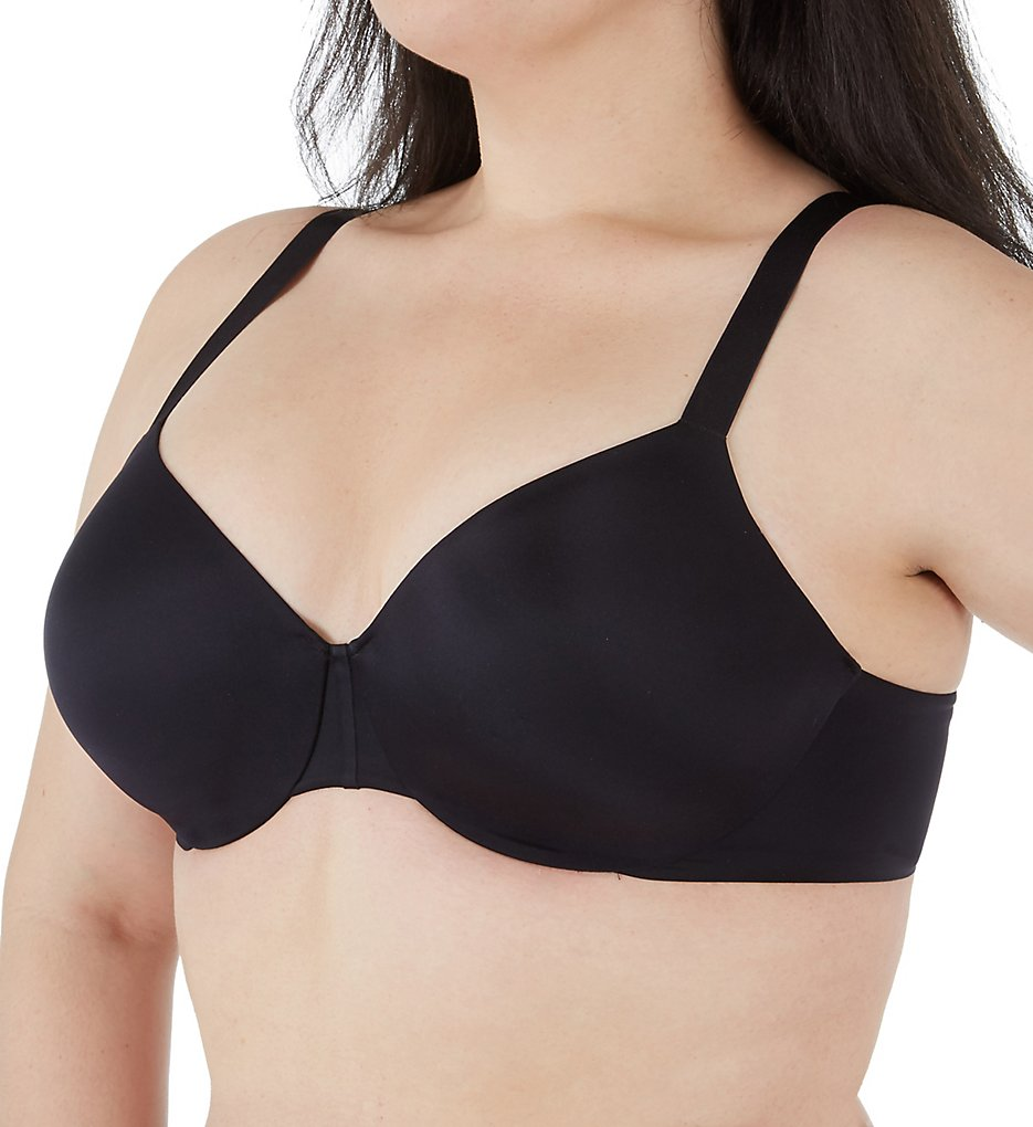 Vanity Fair 76207 Nearly Invisible Full Figure Underwire Bra (Black)