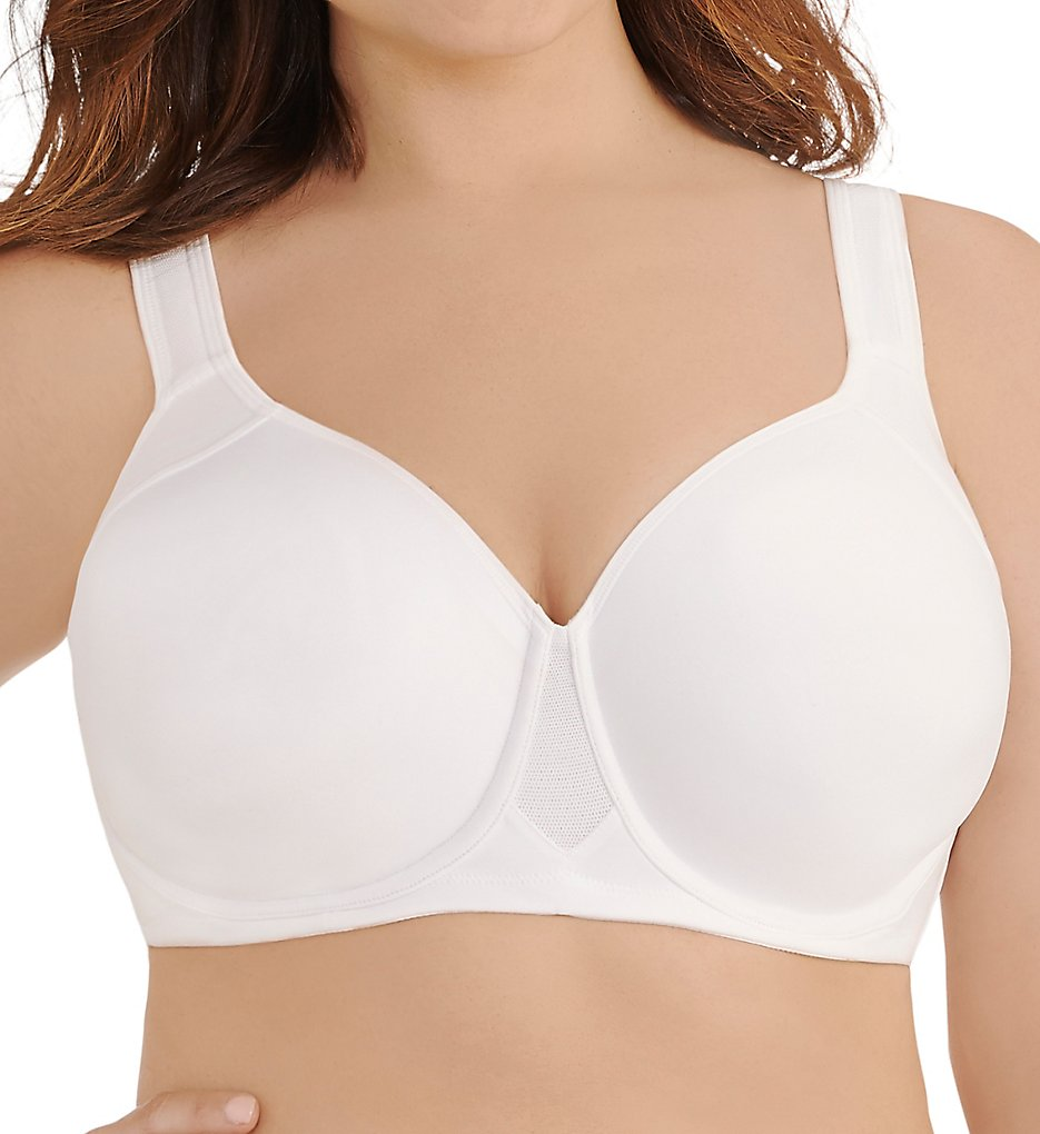 Vanity Fair - Vanity Fair 76500 Full Figure Underwire Sports Bra (Star White 36C)