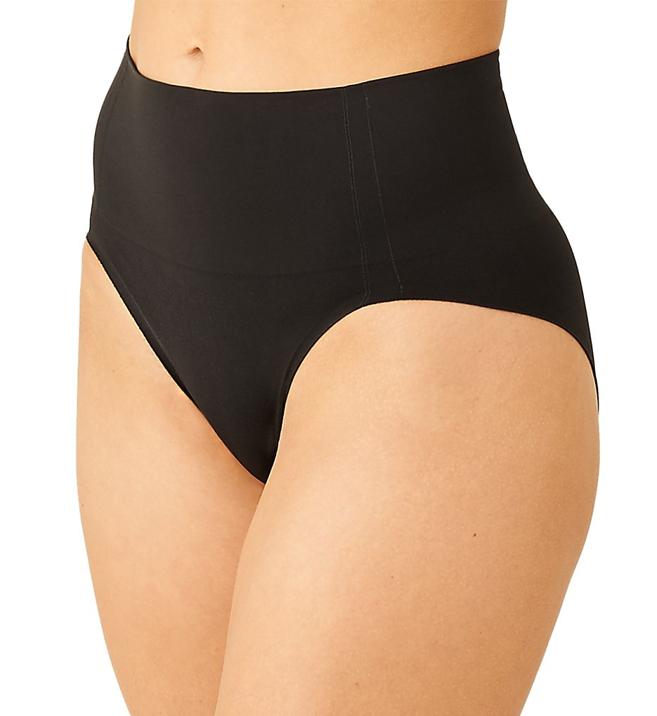 Wacoal - Wacoal 804360 Simply Smoothing Shaping Hi Cut Brief Panty (Black M)