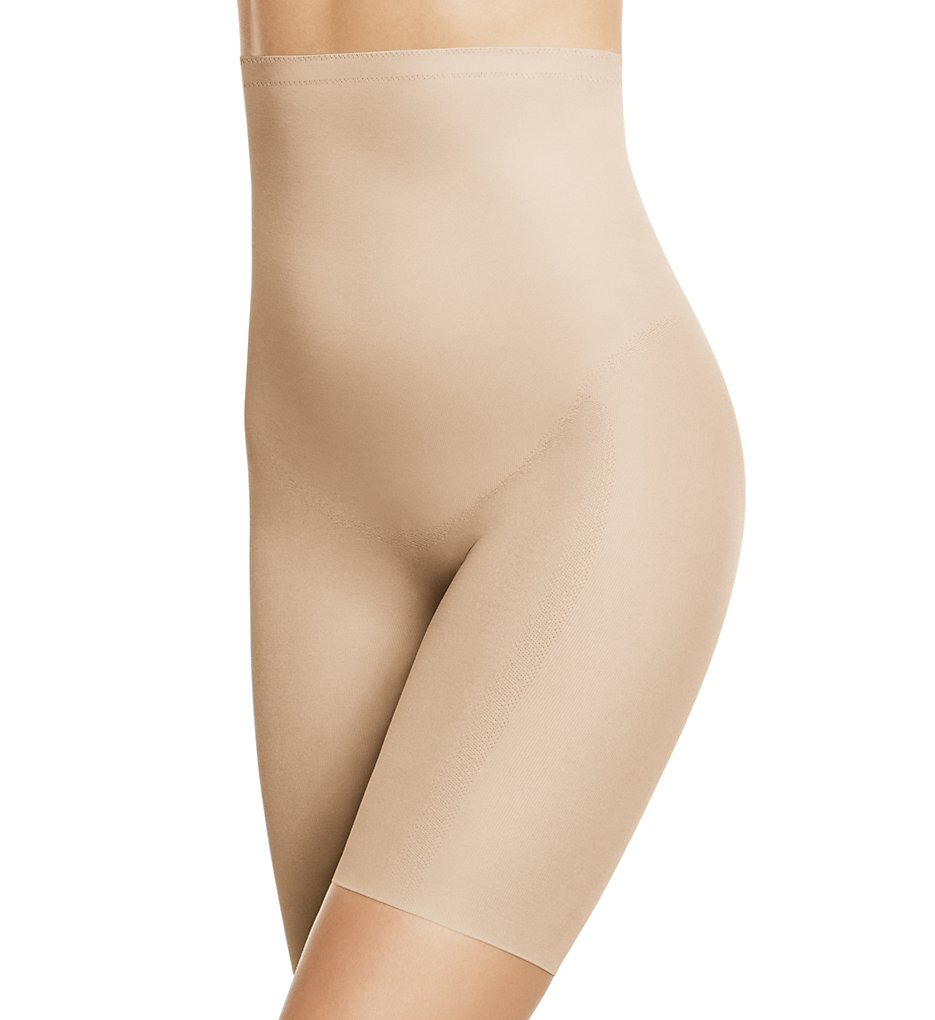 Wacoal >> Wacoal 805258 Zoned 4 Shape High Waist Long Leg Shaper (Sand M)