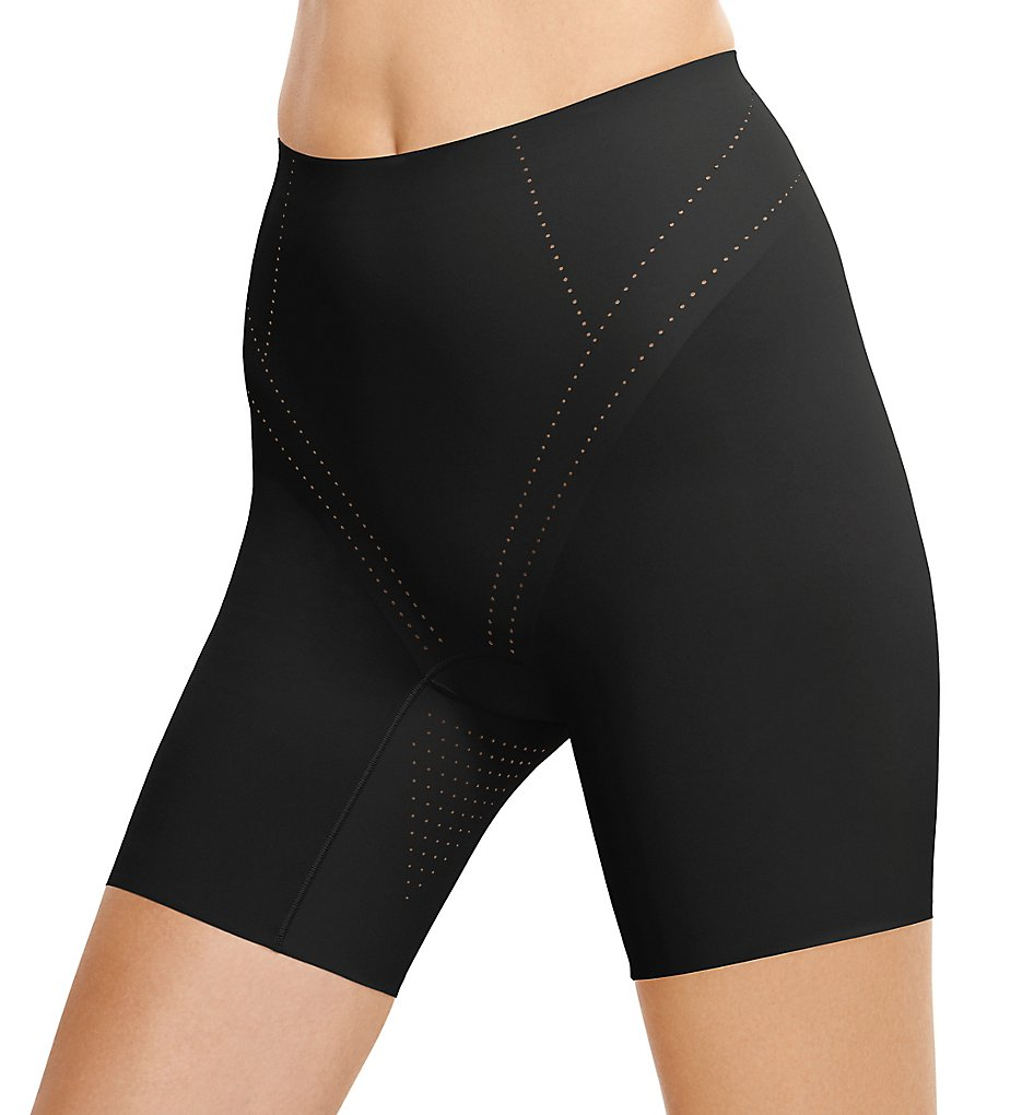 Wacoal >> Wacoal 805284 Shape Air Firm Control Long Leg Shaper (Black S)