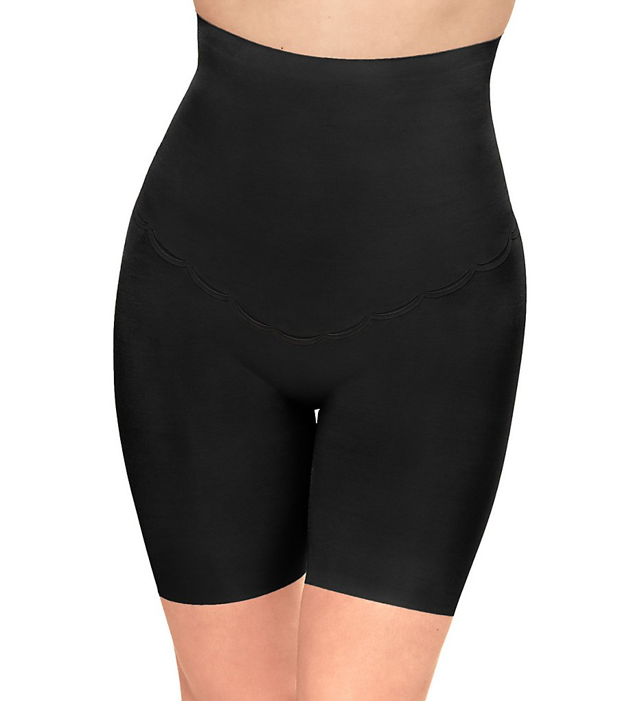 Wacoal - Wacoal 808307 Inside Edit Hi-Waist Thigh Shaper Panty (Black S)
