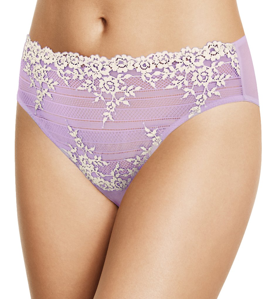 Wacoal 841191 Embrace Lace Hi Cut Brief Panty