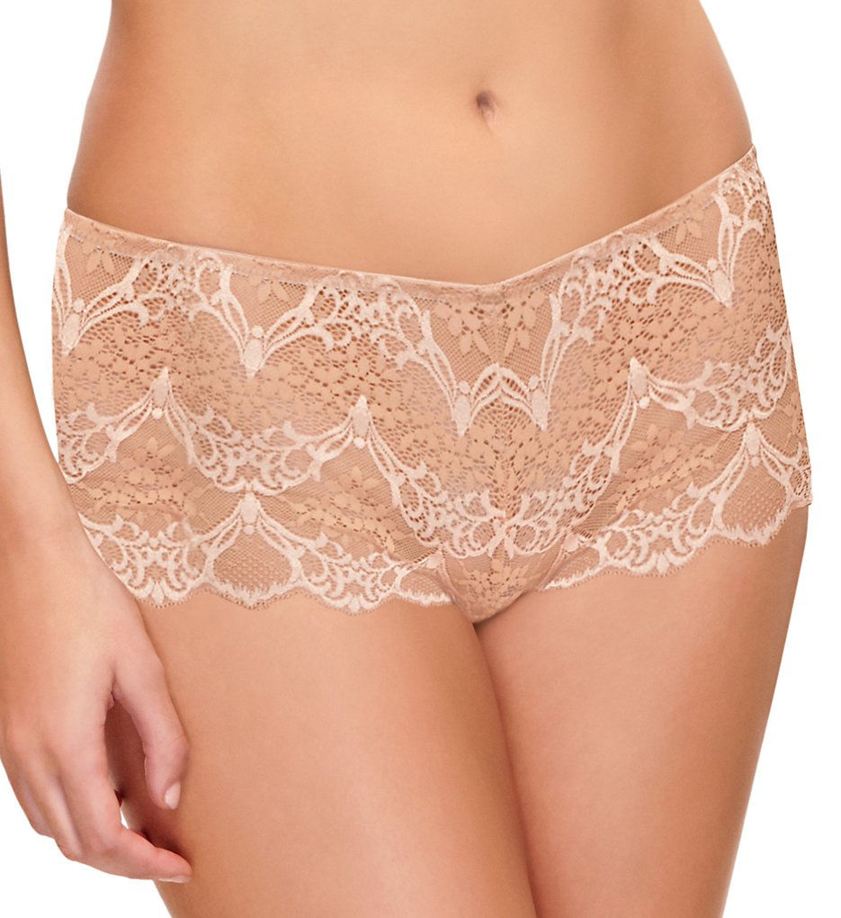 Wacoal - Wacoal 845257 Lace Impression Boyshort Panty (Brush L)