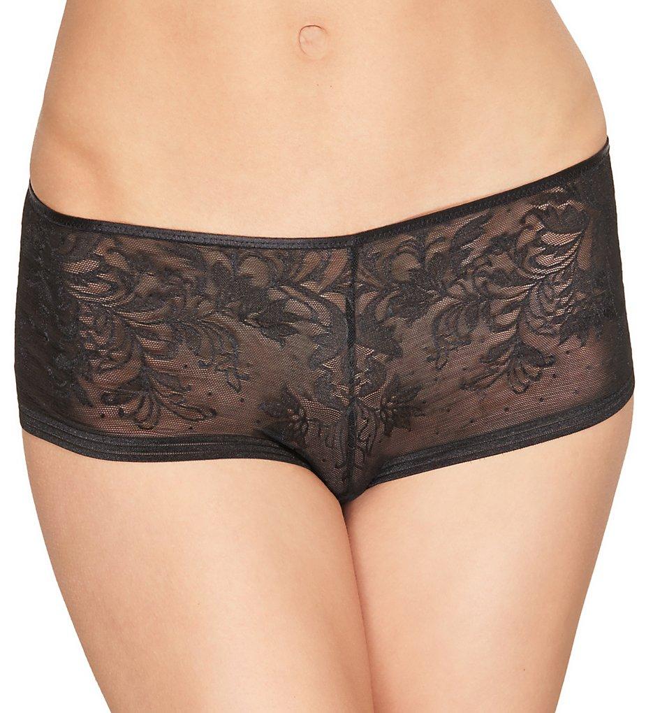 Wacoal - Wacoal 845340 Net Effect Boyshort Panty (Black S)