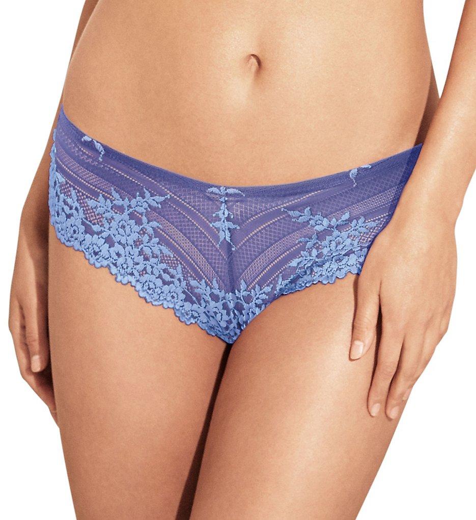 Wacoal : Wacoal 848191 Embrace Lace Tanga Panty (Purple/Hydrangea S)