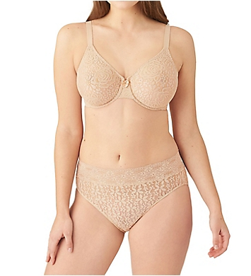 Details about  /WACOAL 851205 HALO LACE Molded UW Bra with J-Hook PURPLE HEATHER 40C  NWT $52