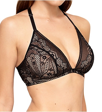 Wacoal Take the Plunge Lace Front Close Soft Cup Bra