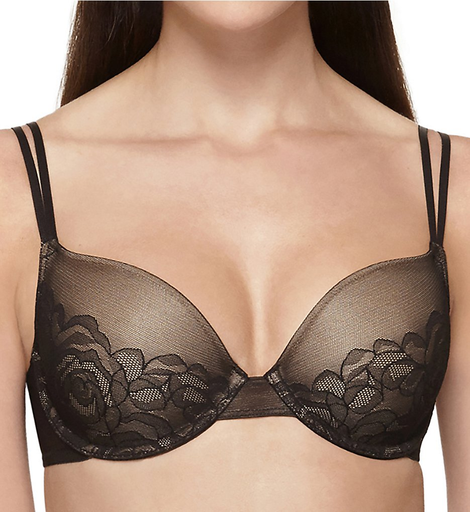 Wacoal - Wacoal 853225 Stark Beauty Underwire T-Shirt Bra (Black 34B)