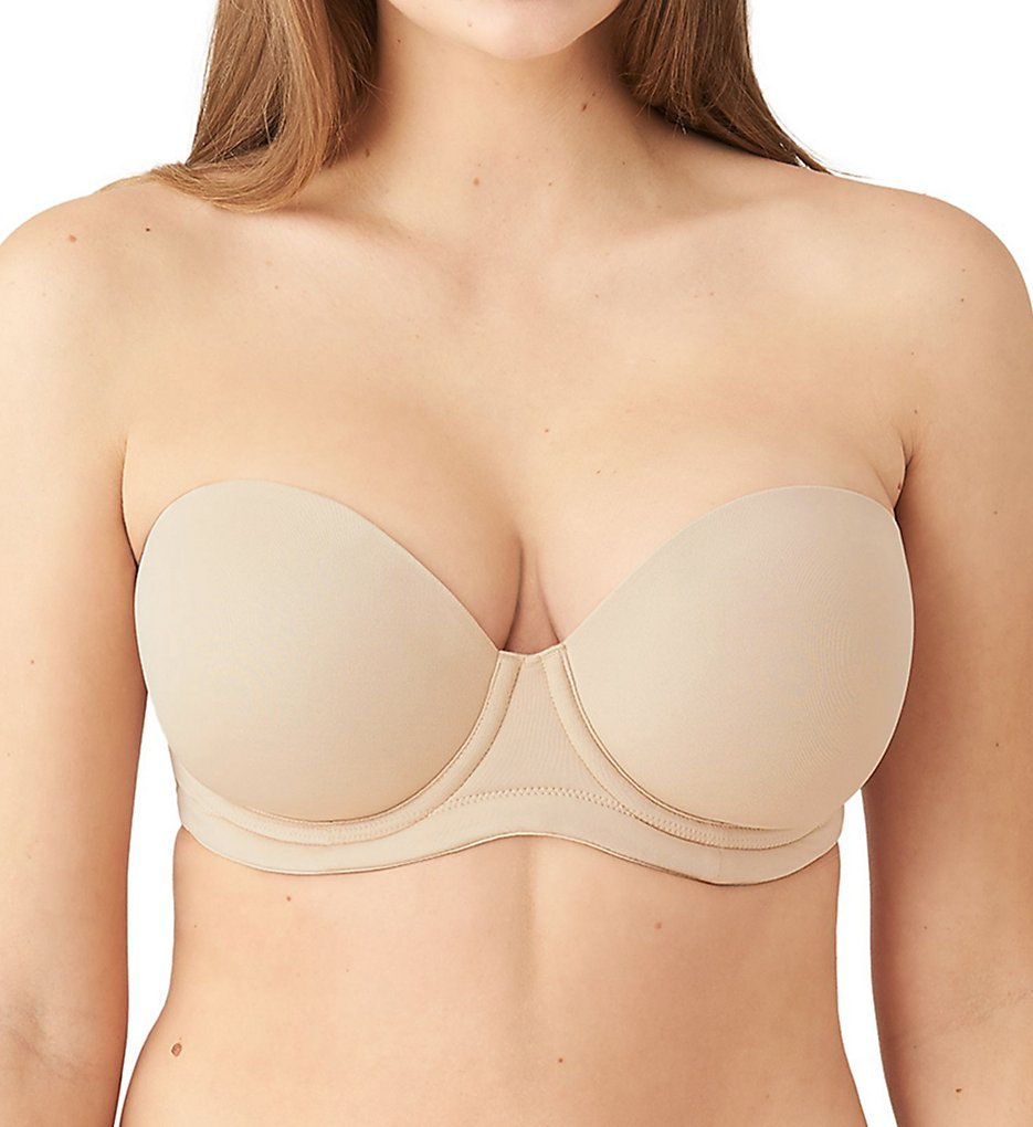 Wacoal 854119 The Red Carpet Strapless Full-Busted Underwire Bra (Sand)