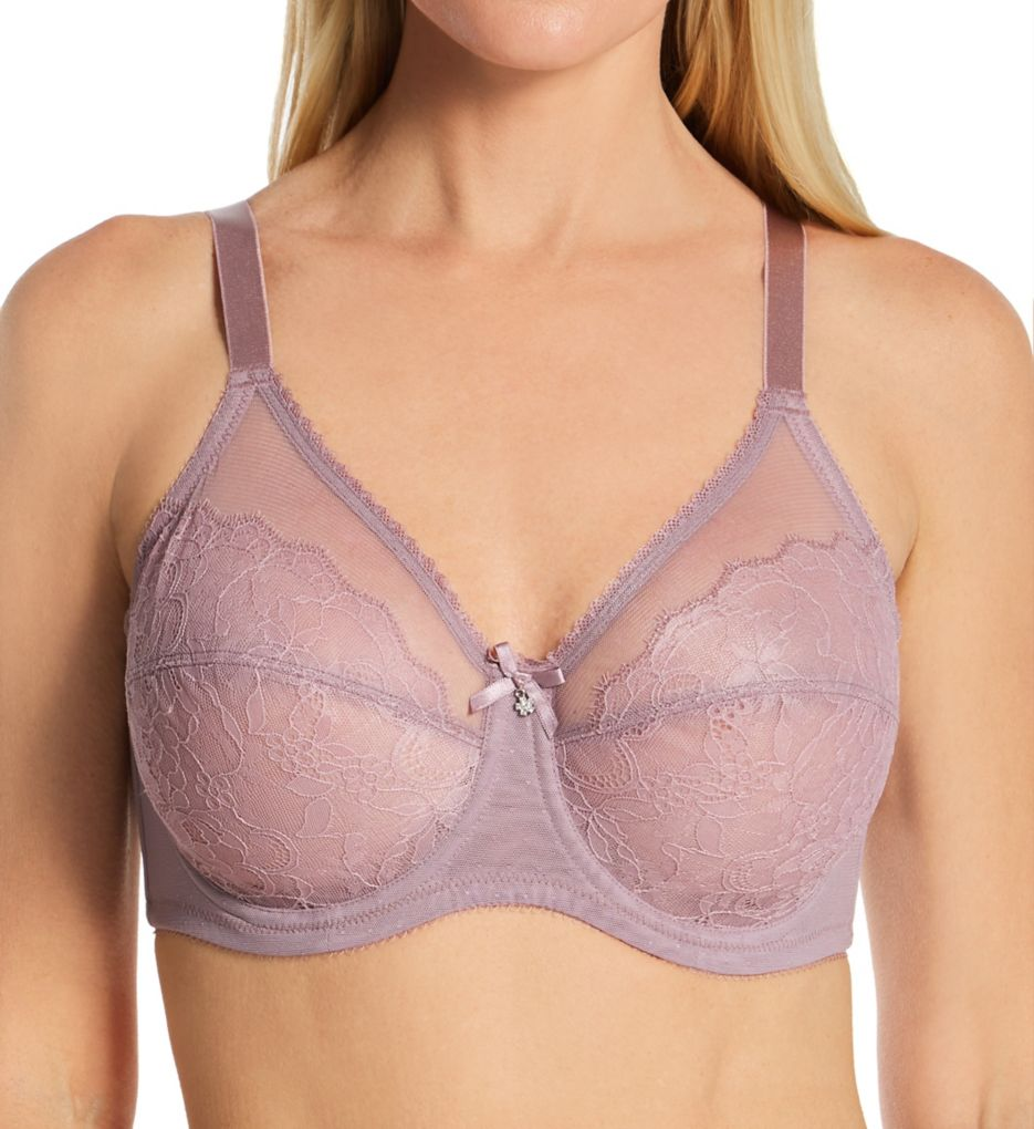 Wacoal Retro Chic 2-Section Cup Bra in Chantilly Lace