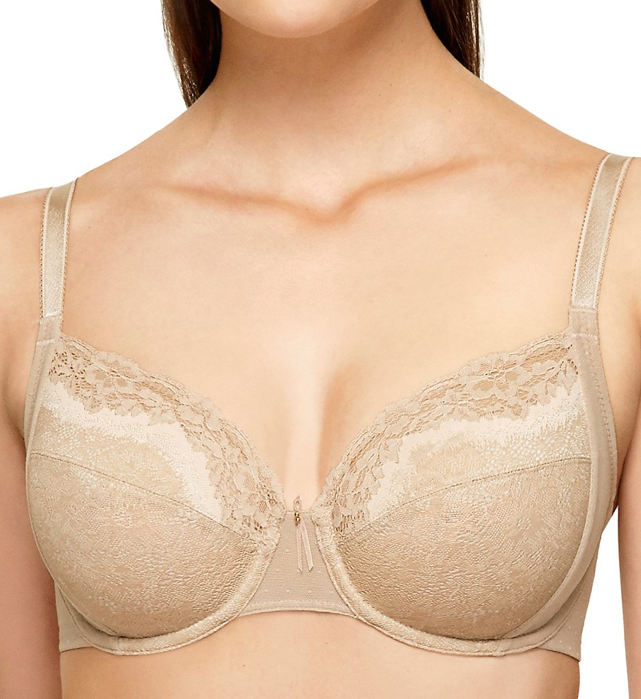 Wacoal - Wacoal 855290 Basic Benefits Unlined Underwire Bra (Toast/Sand 34C)