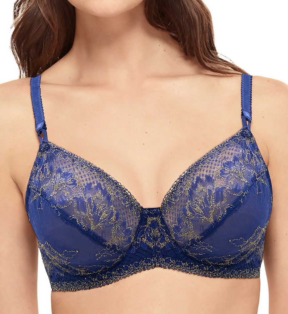 Wacoal - Wacoal 855297 Lace To Love Underwire Bra (Twilight Blue 32C)