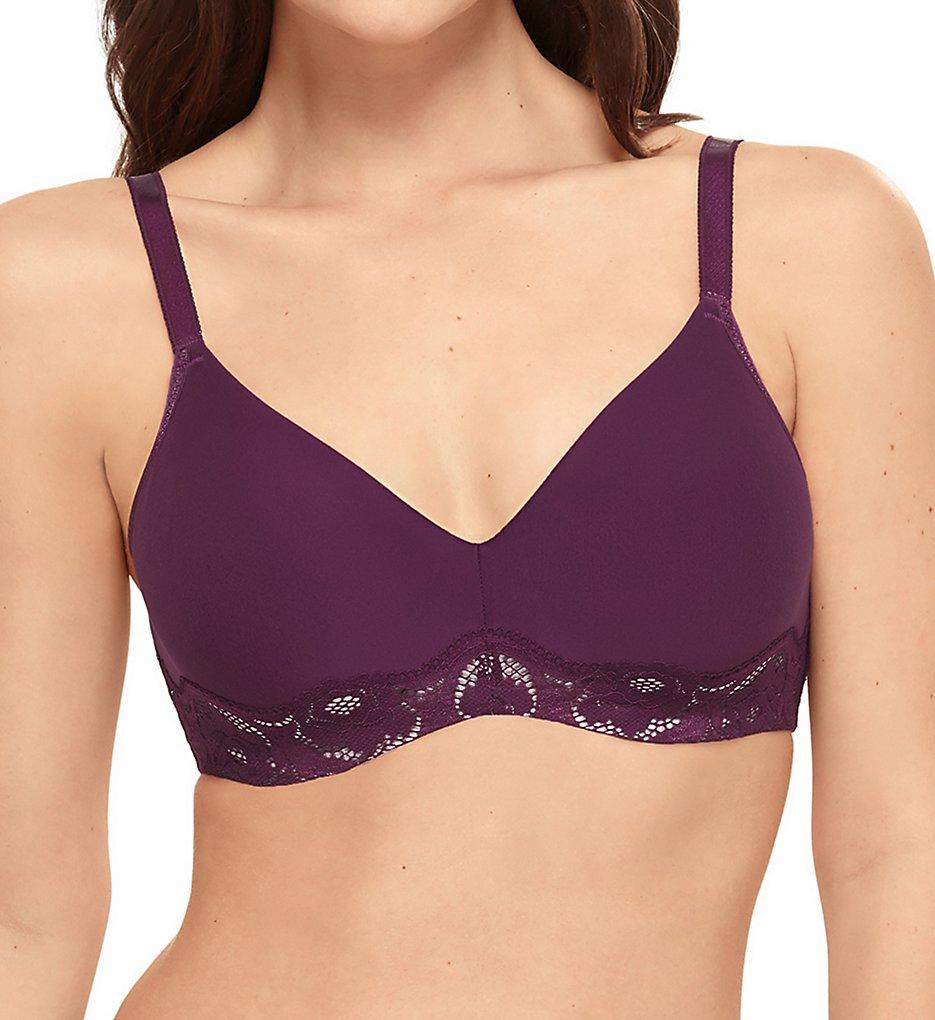 Wacoal 855347 Style Standard Underwire Bra (Dark Purple)
