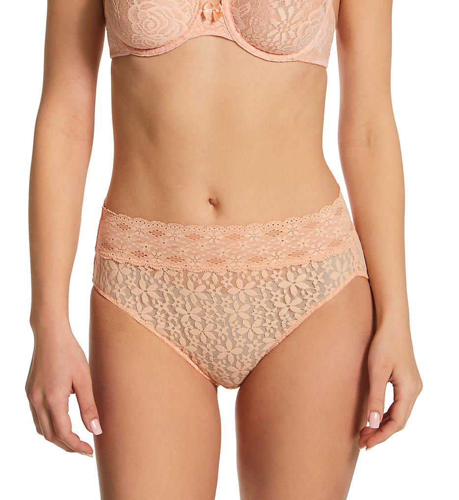 7962936b1e2a Wacoal Halo Lace Hi-Cut Brief Panty 870305 - Wacoal Panties