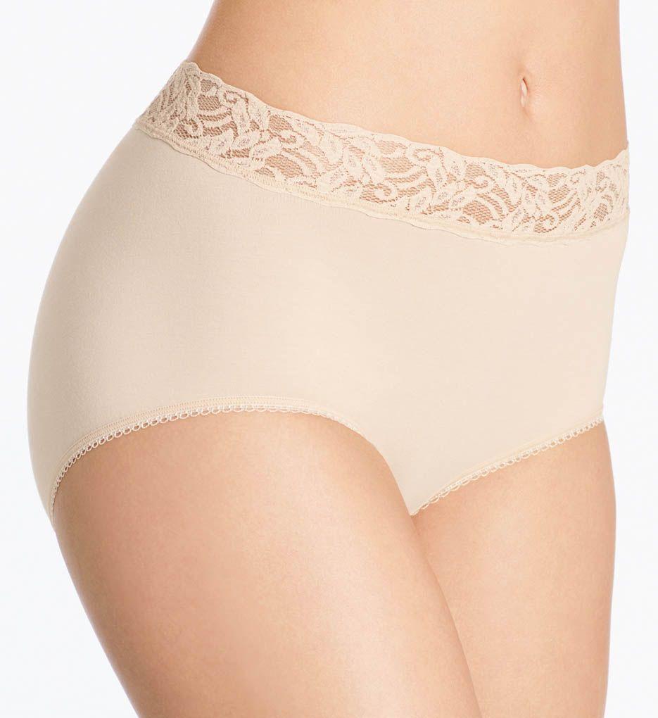 Wacoal Cotton Suede New Brief Panty
