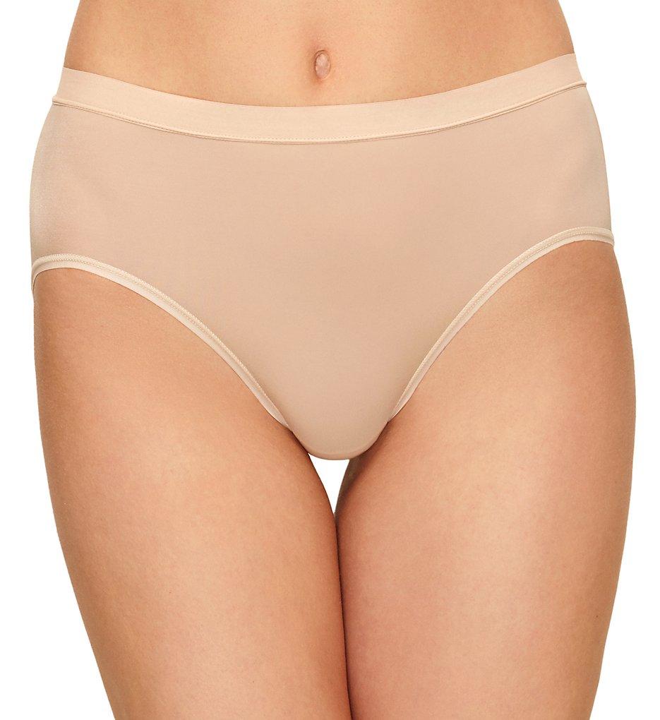 Wacoal - Wacoal 879331 Flawless Comfort Hi-Cut Brief Panty (Sand S)