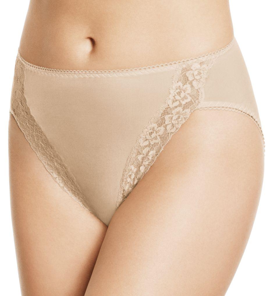 Wacoal Hi-Cut Lace Trim Brief Panties