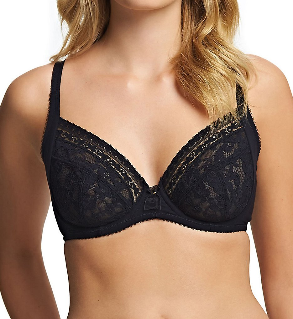 Wacoal >> Wacoal E130001 Europe Eternal Full Cup Underwire Bra (Black 32D)