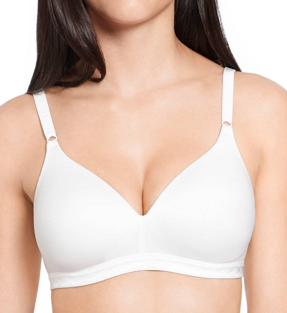 Warners - Warners 1269 Cloud 9 Wire Free Contour Bra (White 34A)