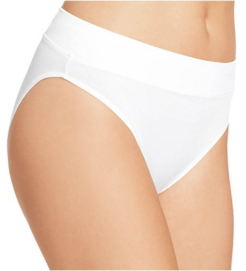 Warner's No Pinching No Problems Micro Hi-Cut Panty- 3 Pack