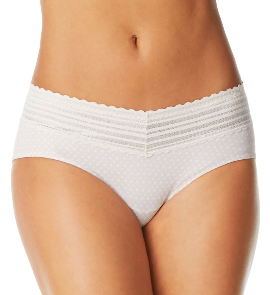 Warner's 5609J No Pinching No Problems Hipster Panty with Lace