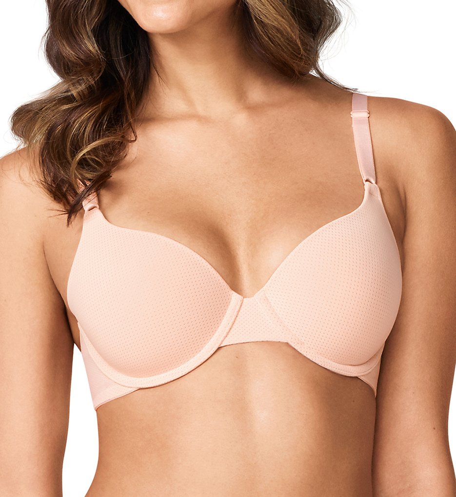 Warner's RB5931A Breathe Freely Underwire Contour Bra (Rosewater)