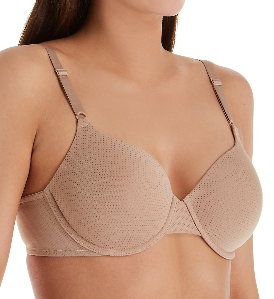 Warner's RB5931A Breathe Freely Underwire Contour Bra (Toasted Almond)