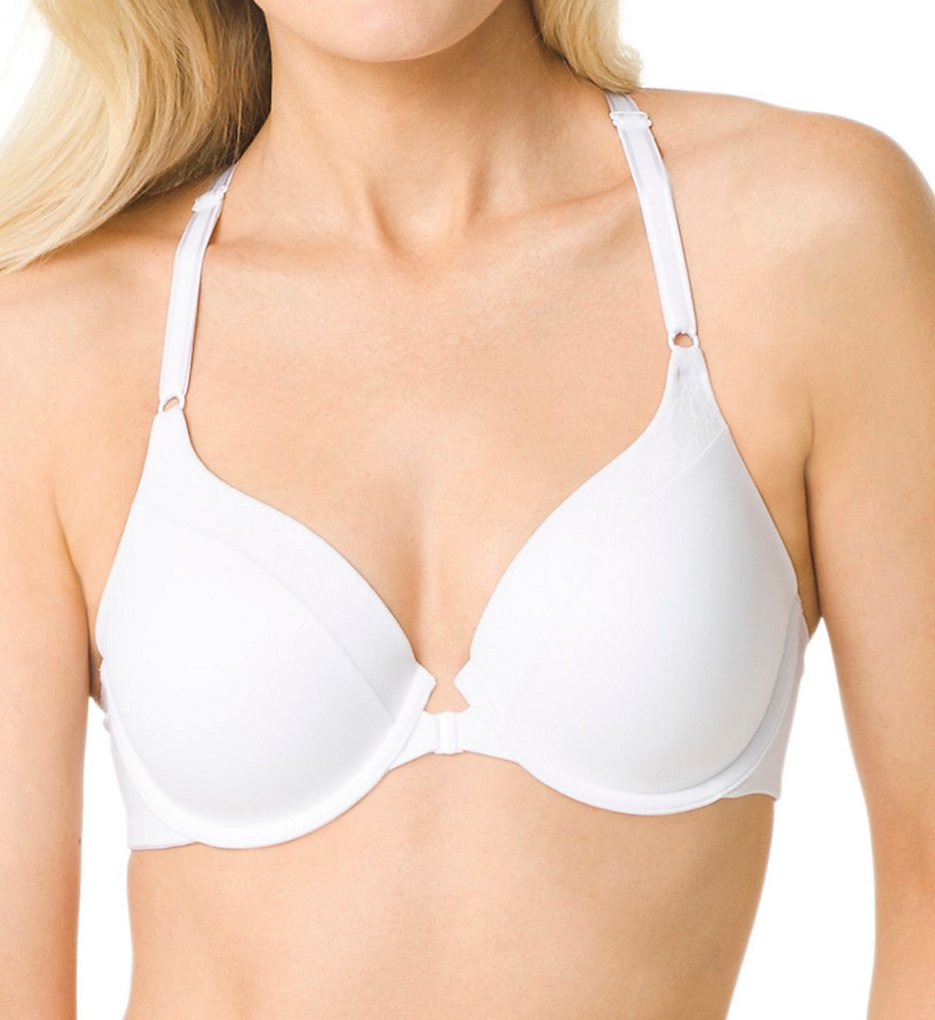 Warners - Warners RF2811A Smooth FX Underwire Racerback Bra (White 34B)