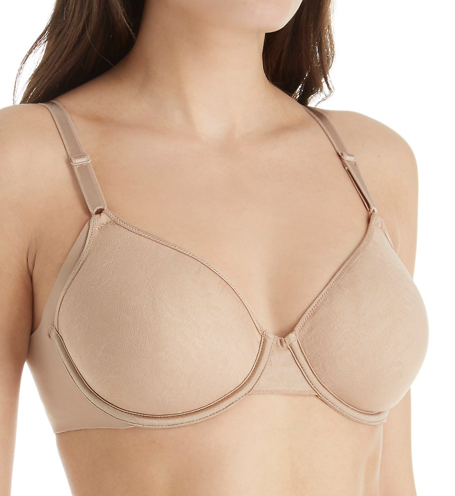 Warners - Warners RF6781A No Side Effects Underwire Spacer Contour Bra (Toasted Almond 34B)
